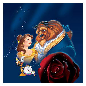 Beauty and the Beast. Размер: 60 х 60 см
